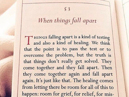 Make Room for the Falling Apart
