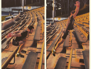 TRY THIS: Plyometric Stair Bounds