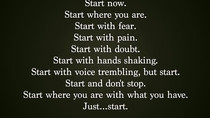 MOTIVATION: Start NOW!