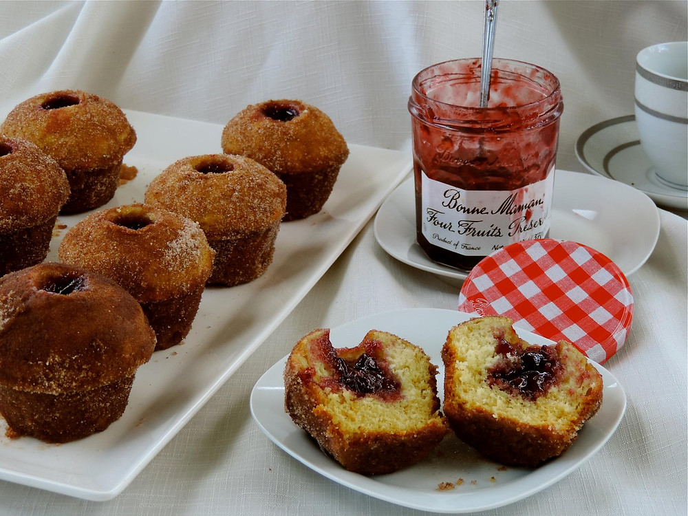 Fruit filled muffin by A Merry Recipe