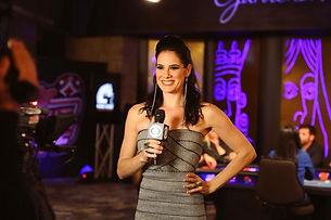 female poker host commentator tiffany mi