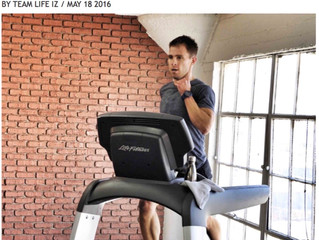 PRESS: Why Interval Training Rocks: With L.A. Trainer Chris Tye-Walker