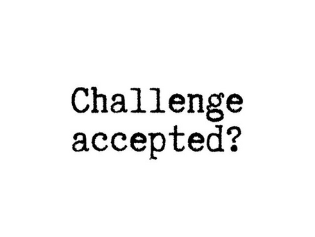 My Thoughts on the Instagram 'Challenge Accepted' Trend