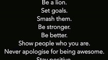 MOTIVATION: Set goals. Smash Them. Be Stronger.