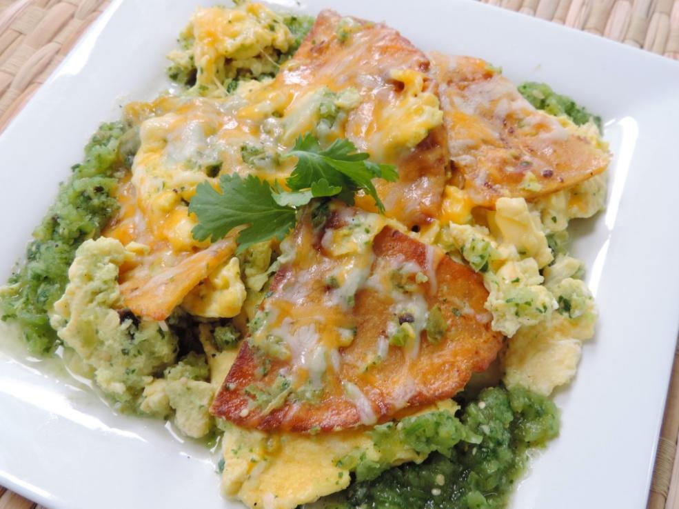 Chilaquiles and Huevos Recipe