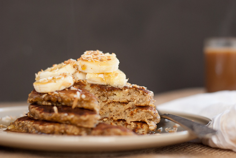Fitness Trainer Banana Oat Pancake Recipe