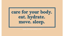 MOTIVATION: Care for your body.