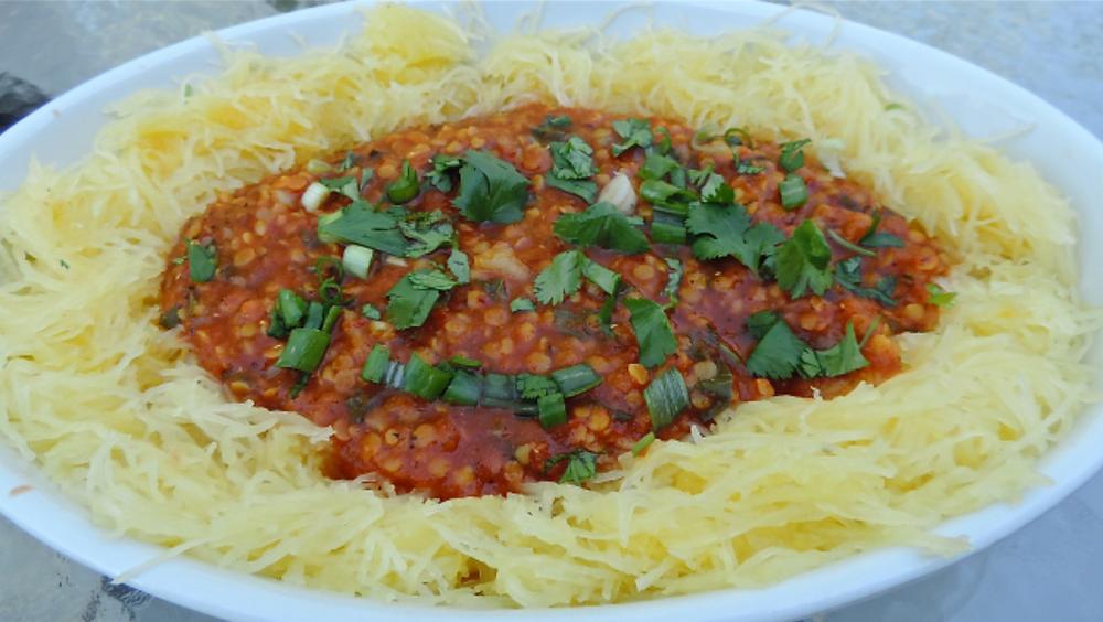 A Merry Recipe - Spaghetti Squash