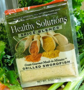 Healthy Solutions Spice Blends recipe