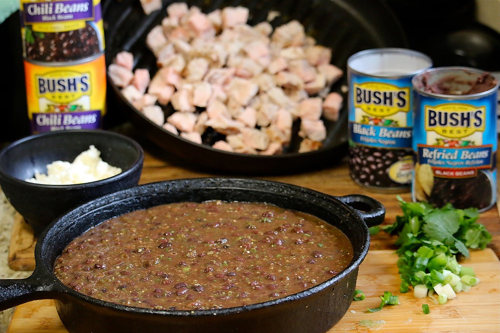 Bush's Salsa Verde Pork & Black Bean Chili Cook Off
