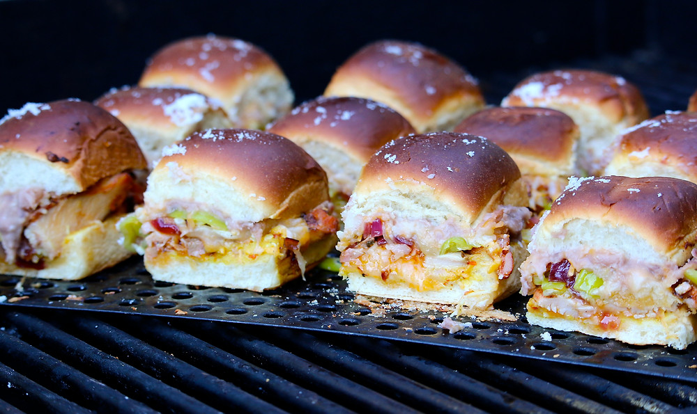 Easy Chicken Sliders on Grill!