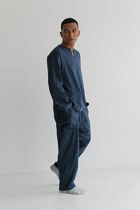 ALI Oversized Baju Melayu Top