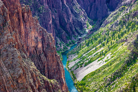 Black Canyon of the Gunnison National Park, CO, USA