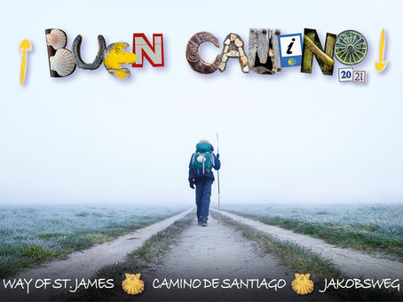 """""""Buen Camino 2021!"""" Wall Calendar"""