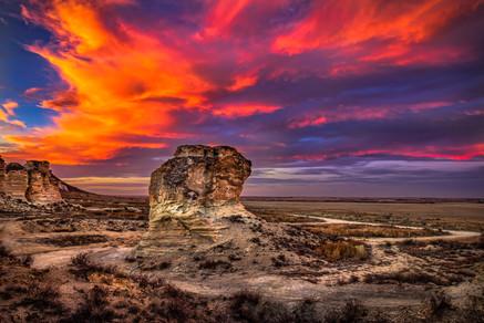 Castle Rock State Park, KS USA