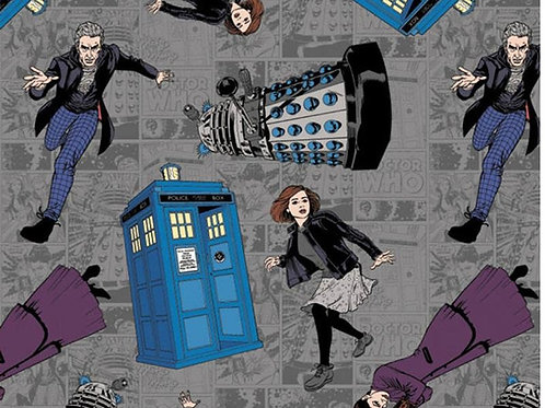 Doctor Who - Character Toss