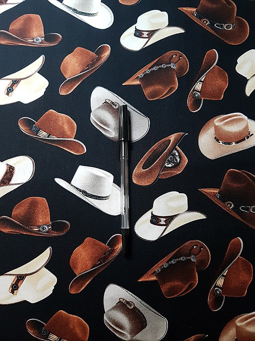 Tossed Cowboy Hats