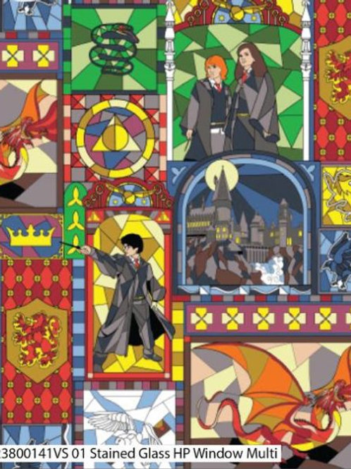 Harry Potter- Stained Glass multi