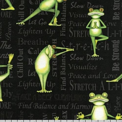 Yoga Frog-Back in 5 Minutes