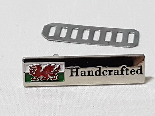 Metal Wales Handcrafted Label