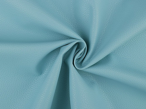 Leatherette- Textured Baby Blue
