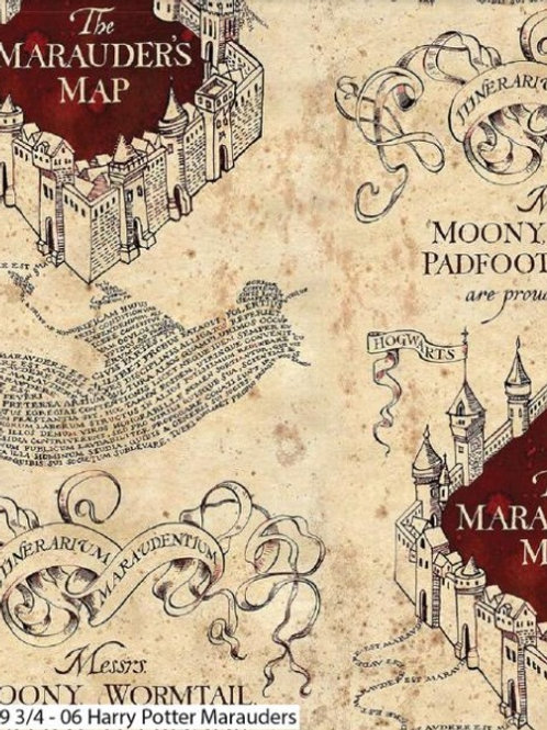 Harry Potter- Marauders Map