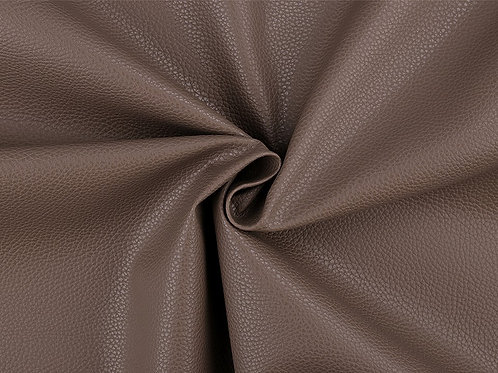 Leatherette- Textured  Dark Beige