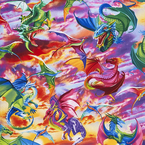 Colourful Dragons