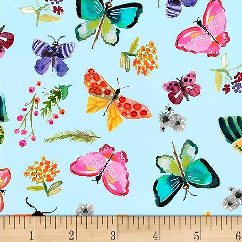 Aqua Butterfly