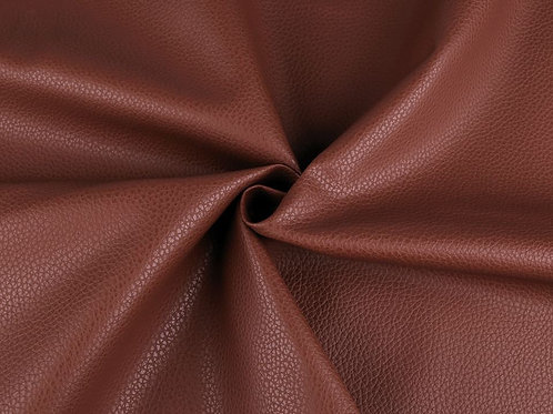Leatherette- Textured  Brown