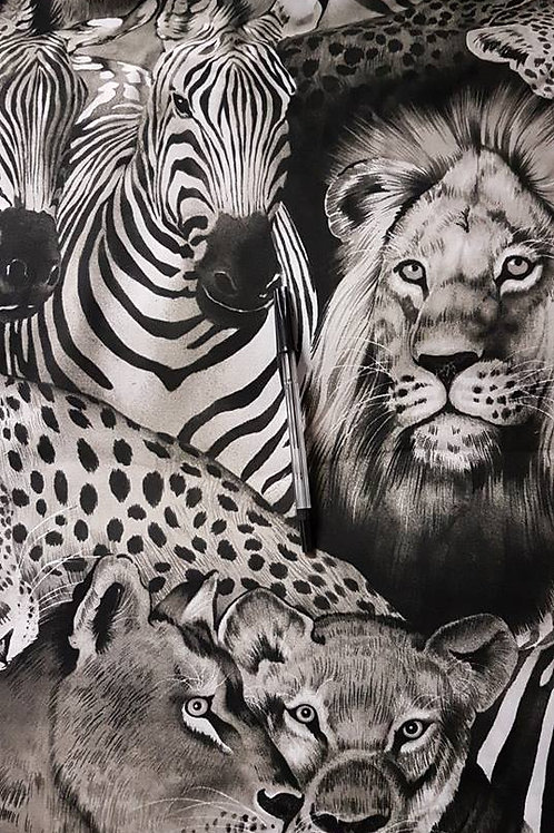 White & Black Africa