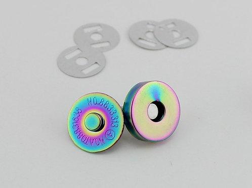 18mm Rainbow Magnetic Fasteners