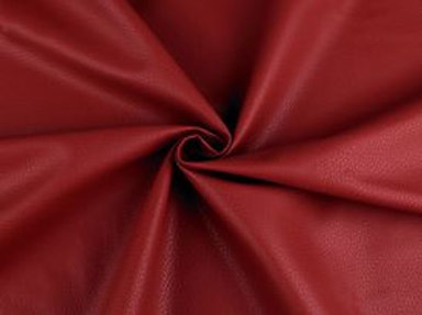 Leatherette- Dark Red