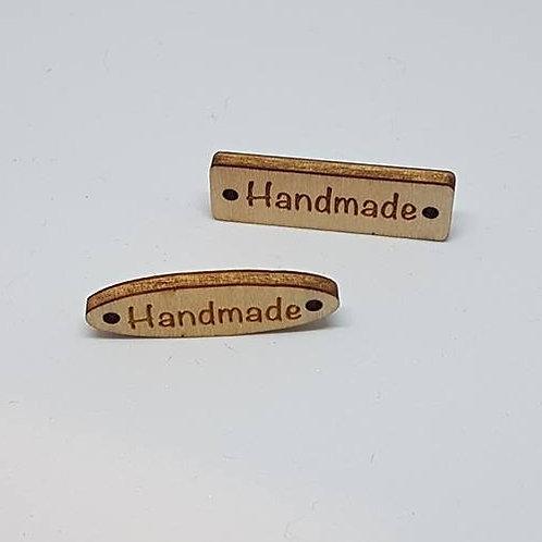 Wood Handmade Label