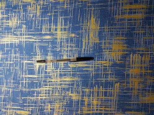 Painters Canvas  Blue with gold sparkle