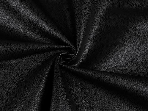 Leatherette- Textured  Black