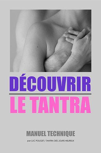 Couverture du livre DECOUVRIR LE TANTRA
