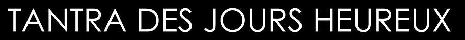 photo nour et blaznc abec des lettres blanches sur fond nous pour annoncer le titre de la page d'accueil France massages