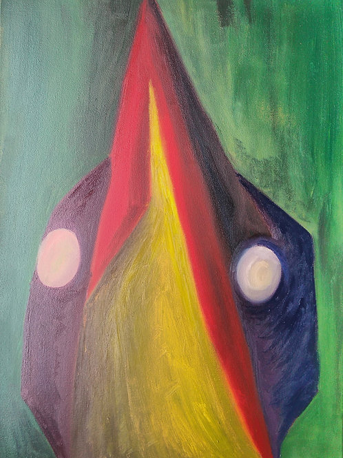 Bittern - Original Oil Painting