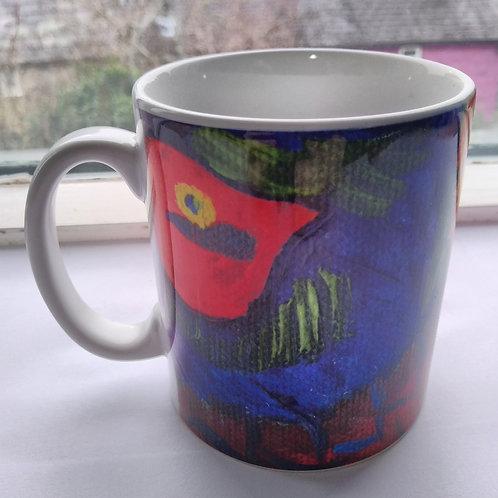 Pheasant Ceramic 10 oz Durham Style Mug