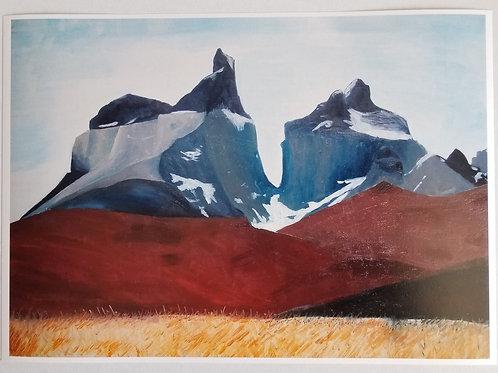 Los Cuernos del Paine - Fine Art Print