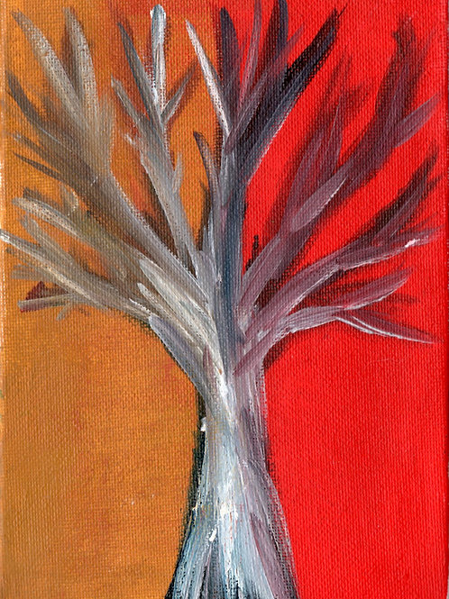 Tree - Fine art greeting card