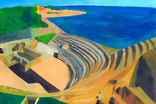 Tarragona - Fine art greeting card