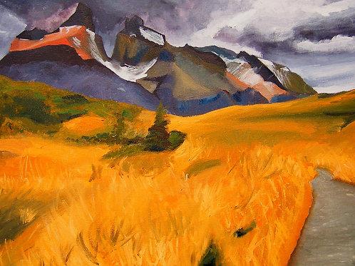 The Path - Fine art postcard