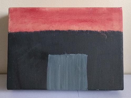 Hut - Original Oil Painting