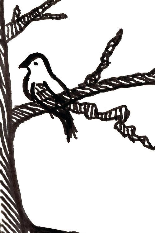 The Mustard Tree - Fine art greeting card