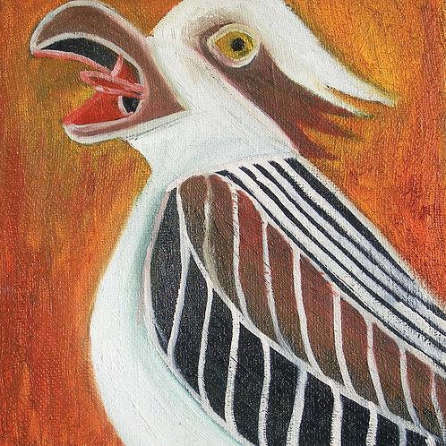 The Osprey - Fine art postcard