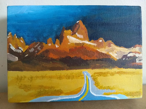 Monte Fitz Roy - Original Oil Painting