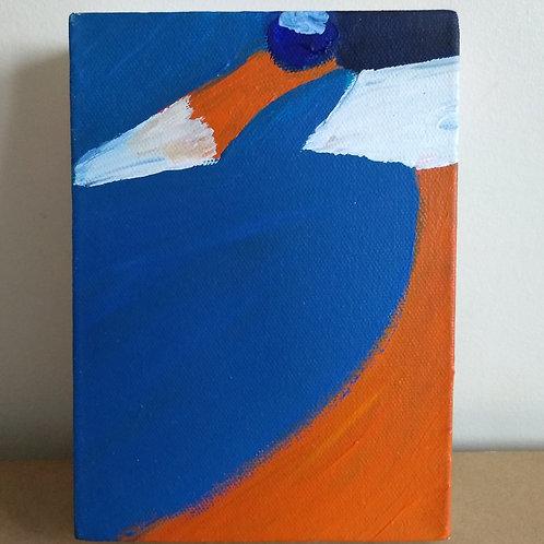 Kingfisher - Original Oil Painting