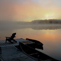 Ross Lake - morning